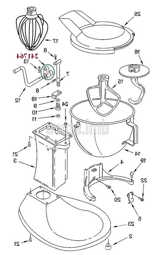 KitchenAid Mixer Bowl Arm