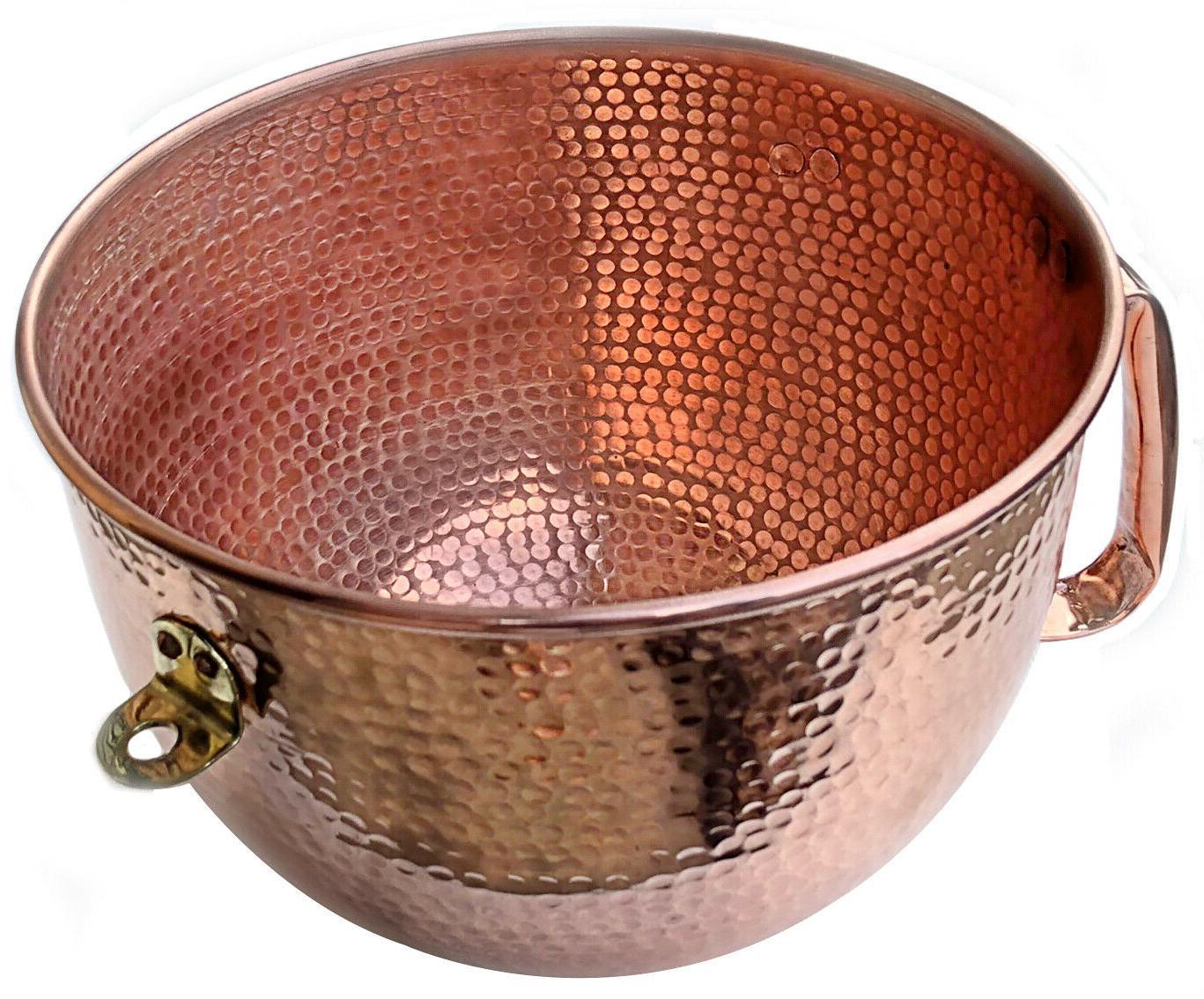 kitchenaid solid copper mixing bowl 6 qt