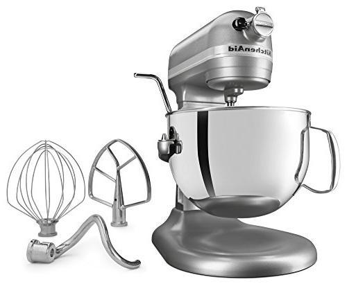 KitchenAid KL26M1XSL Bowl-Lift Stand Mixer Silver