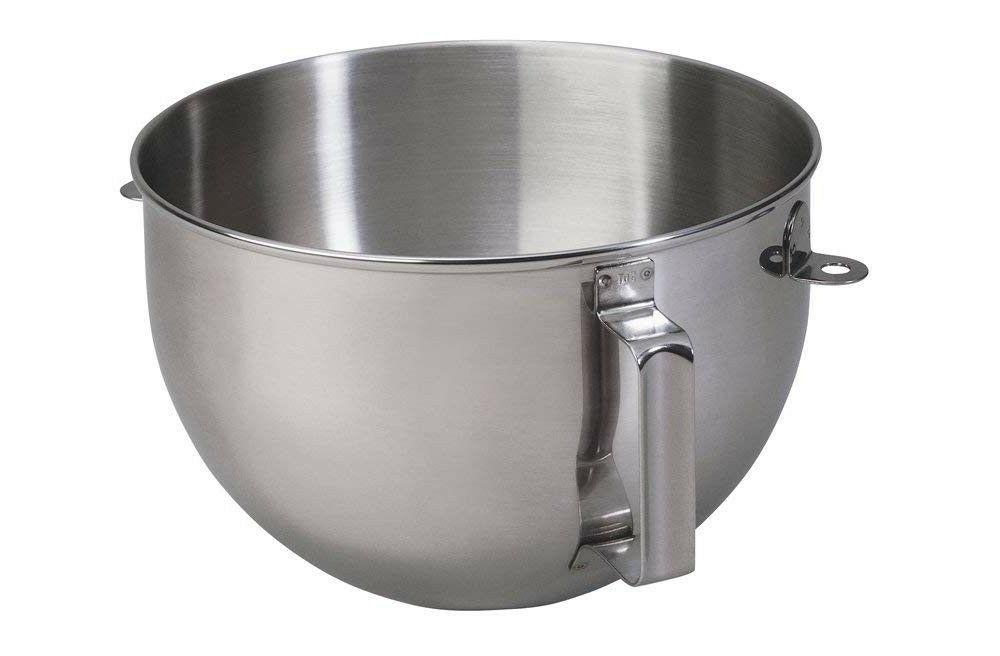 kn25wpbh 5qt polished stainless steel mixer bowl