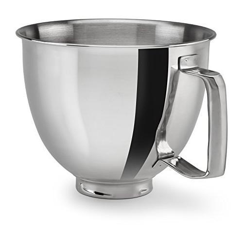 ksm35ssfp polished stainless steel bowl