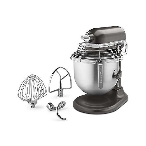 KitchenAid Countertop Bowl-Guard, 10-Speed, Gear-Driven, Dark