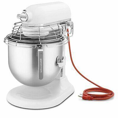 KitchenAid KSMC895WH White 8 Qt. Stand Mixer