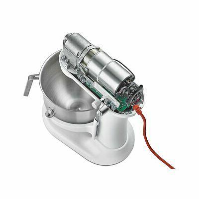 KitchenAid KSMC895WH White Commercial 8 Qt. Lift Stand Mixer