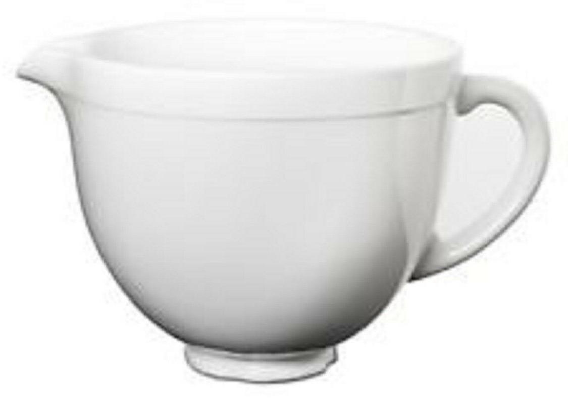 ksmcb5lw 5 qt tilt head ceramic bowl