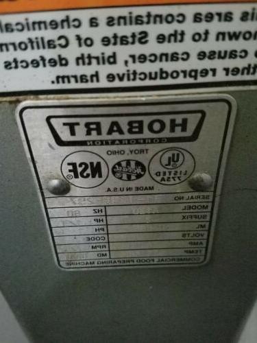 Hobart Mixer A120 Quart QT &