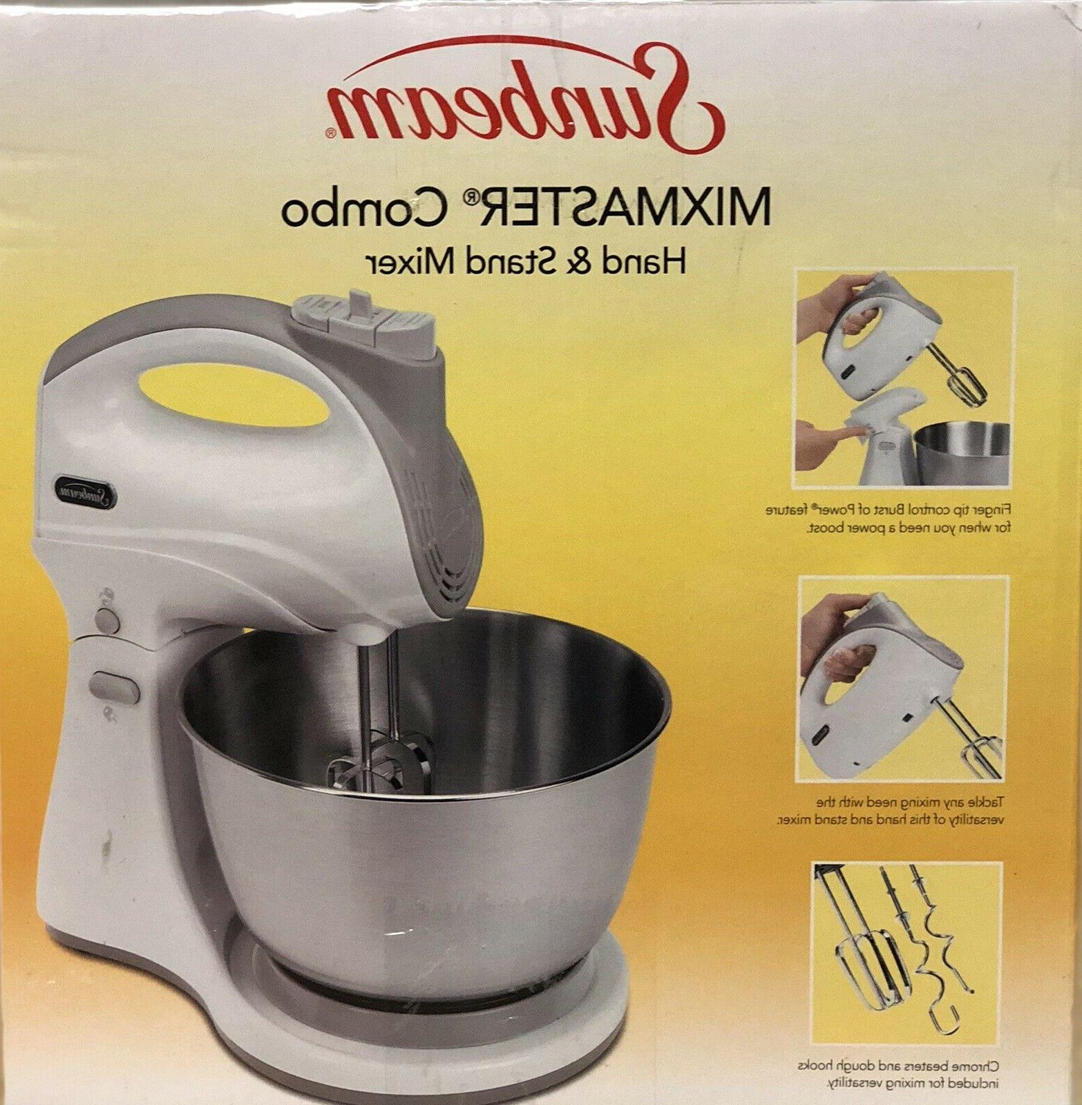 mixmaster 250 w combo hand stand mixer