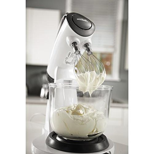 Sunbeam 12-Speed Stand Mixer, Qt. 4 Included, White