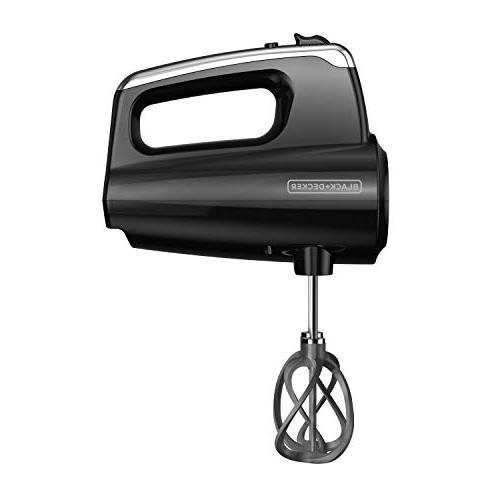 BLACK+DECKER Helix Premium 5-Speed Hand 5 Case, Black