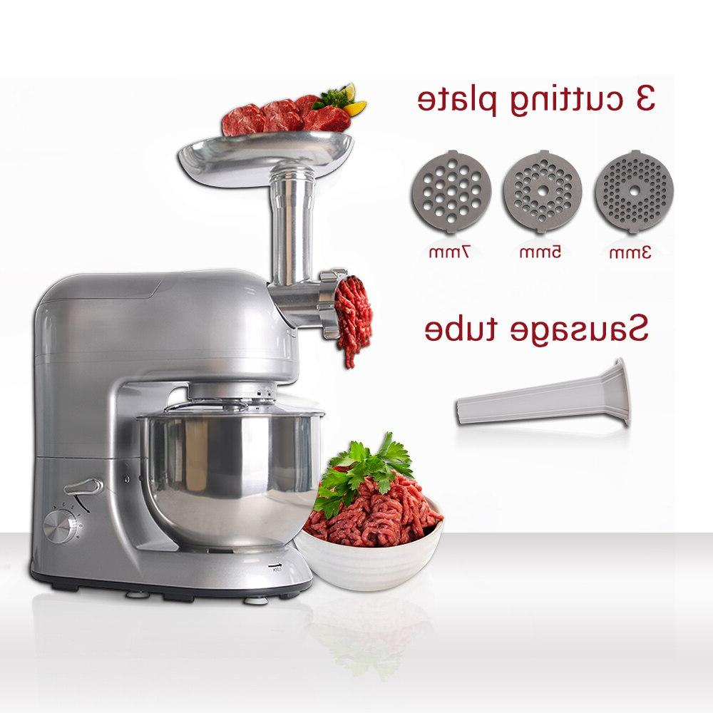 GZZT Multifuntion <font><b>Mixer</b></font> Juicer Blender Stuffers Noodles Egg 5.2L Cup Food