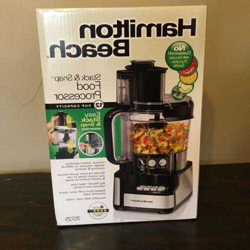 new stack and snap food processor mixer
