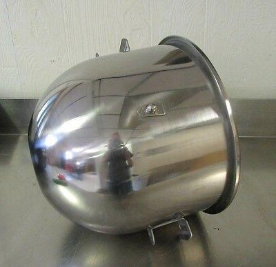 new stainless steel 20 qt bowl