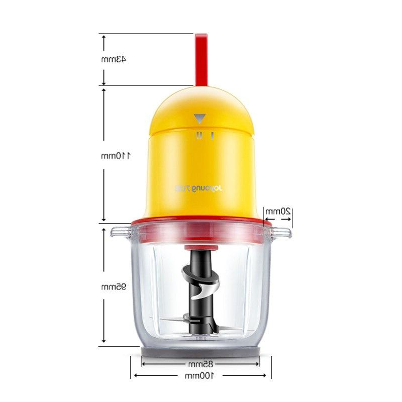Portable Multi Electric Thickened <font><b>Glass</b></font> Food Feeding Mini Grinder Meat Juicer