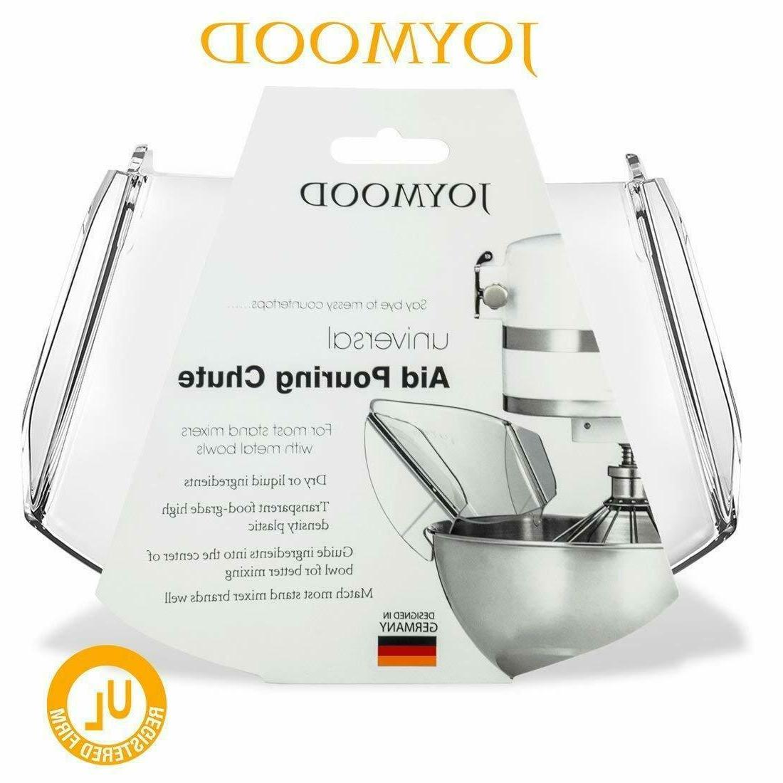 Pouring Stand Mixer Universal Pouring Chute