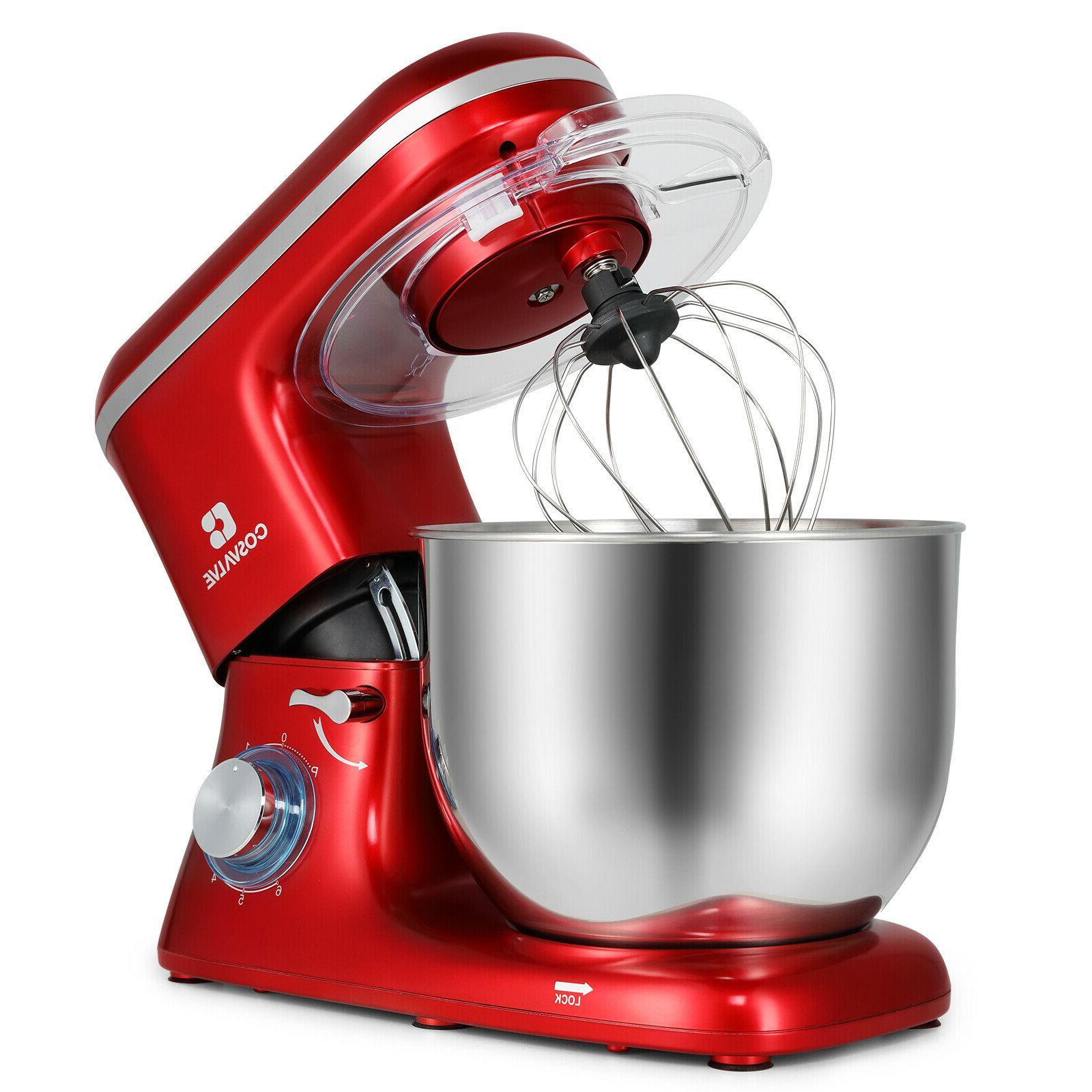 Pro Food Stand Mixer 7-QT Tilt-Head 6-Speed