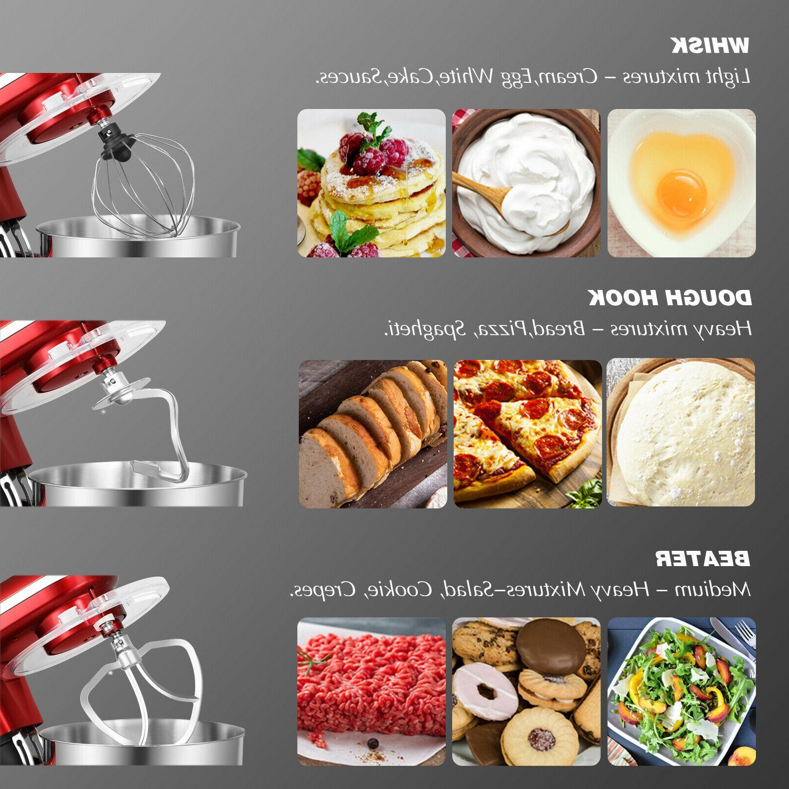 Pro Mixer 6-Speed Kitchen Bowl