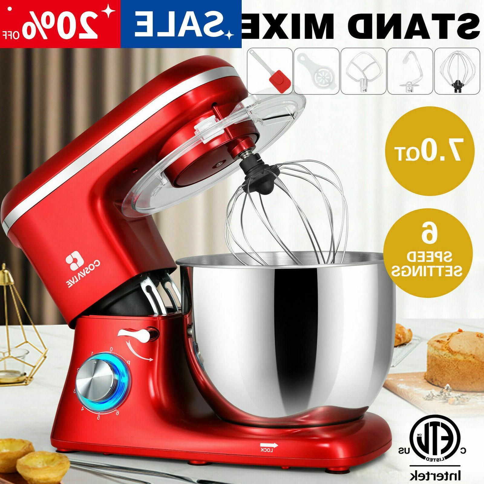 pro electric food stand mixer 7 qt