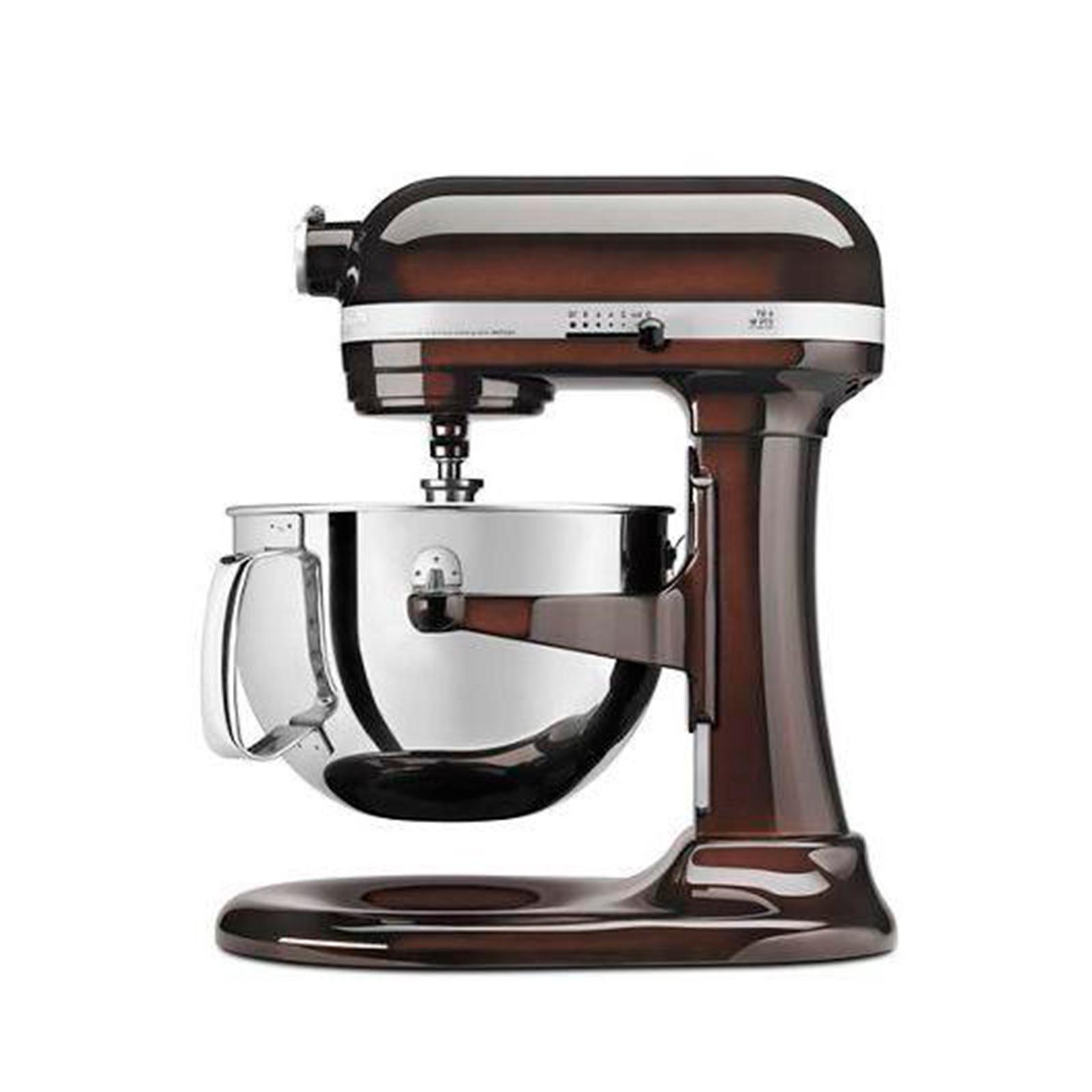 professional bowl lift stand mixer espresso 6