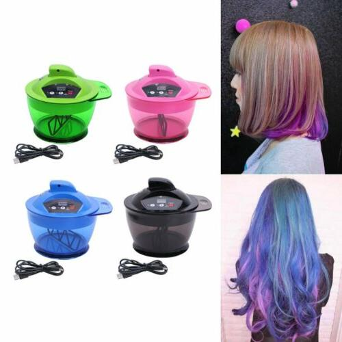 professional electric hair coloring bowl automatic mixer