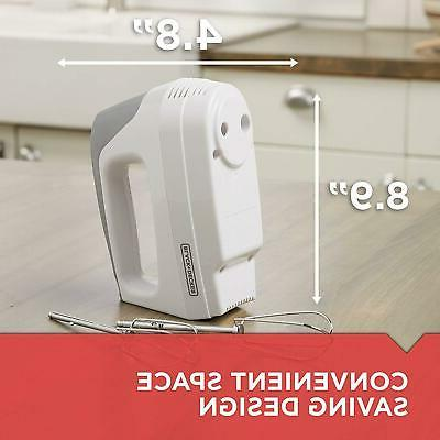 Professional-Style Beaters Hand Mixer Heel Rest New