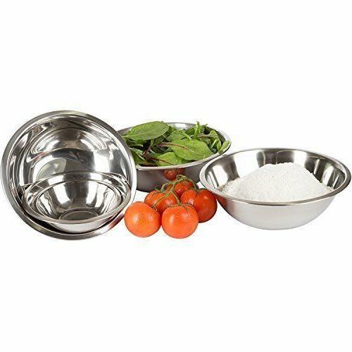 Set of 5 Polished Mirror Nesting Bowls ¾, 1 4, 5 -