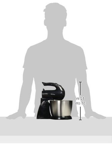 Brentwood Appliances SM-1153 5-Speed Stand Mixer Steel 12.00In. 8.40In.