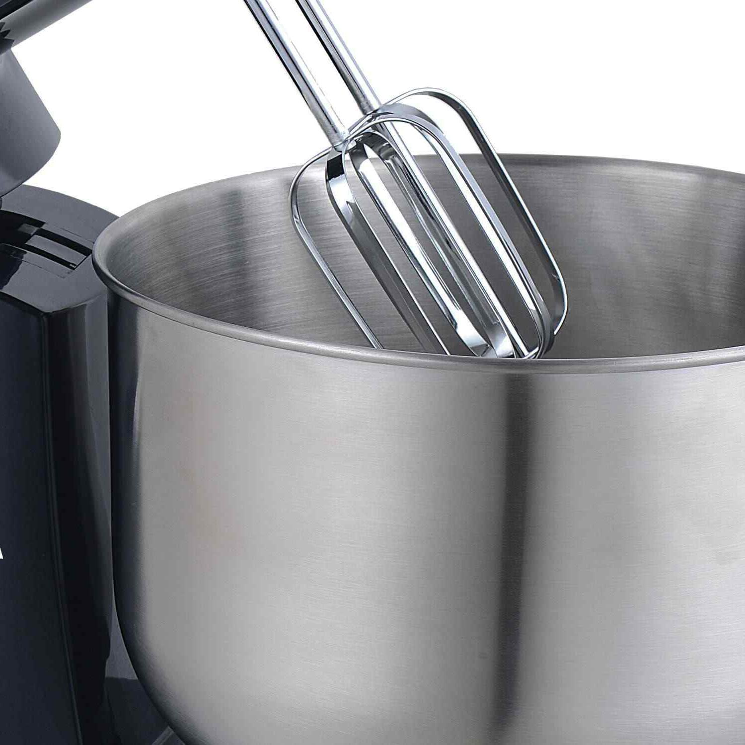 Brentwood SM-1162BK 5-Speed Stand Mixer Stainless Steel Mixing Bowl