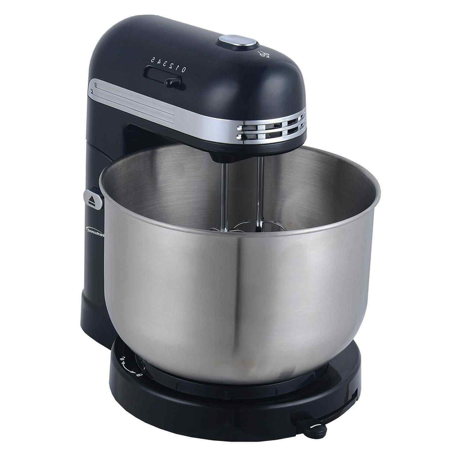 Brentwood 5-Speed Mixer Quart Stainless Steel Mixing