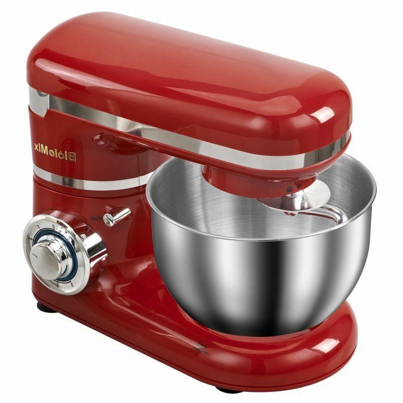 Stainless Steel Bowl 6-speed Household Food