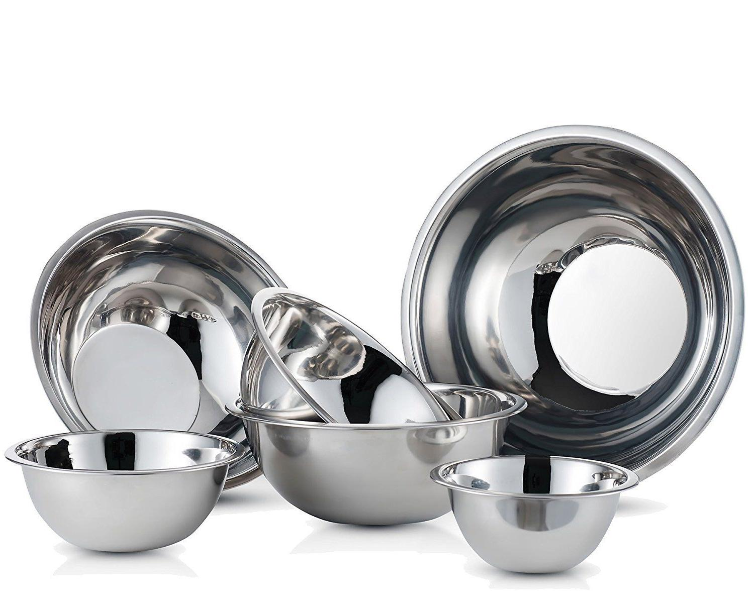 Stainless Bowls Polished Bowls