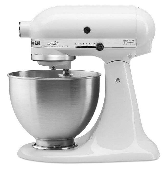 stand mixer 10 speed blender stainless bowl