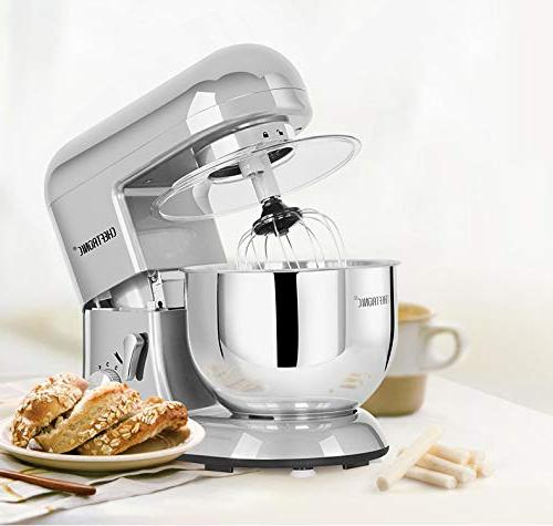 CHEFTRONIC Stand mixers Mixing Speed Kitchen flat beater hook wire guard.