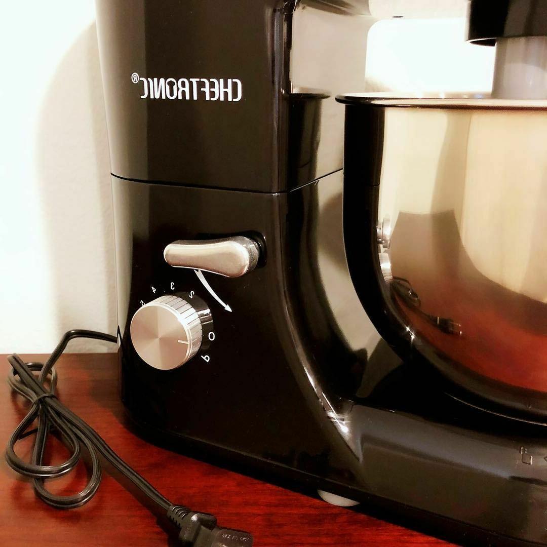 CHEFTRONIC Tilt-Head Electric Kitchen Stand Black