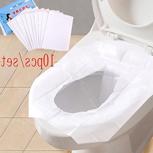 universal portable toilet disposable sticker