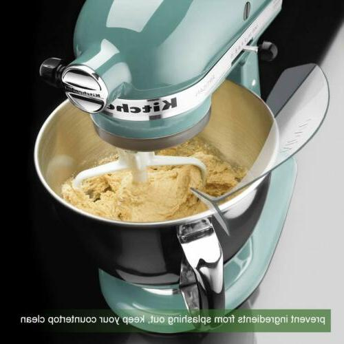 Universal Pour Chute Attachment Stand Mixer Bowl