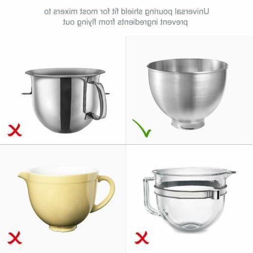 Universal Pour Chute Stand Mixer