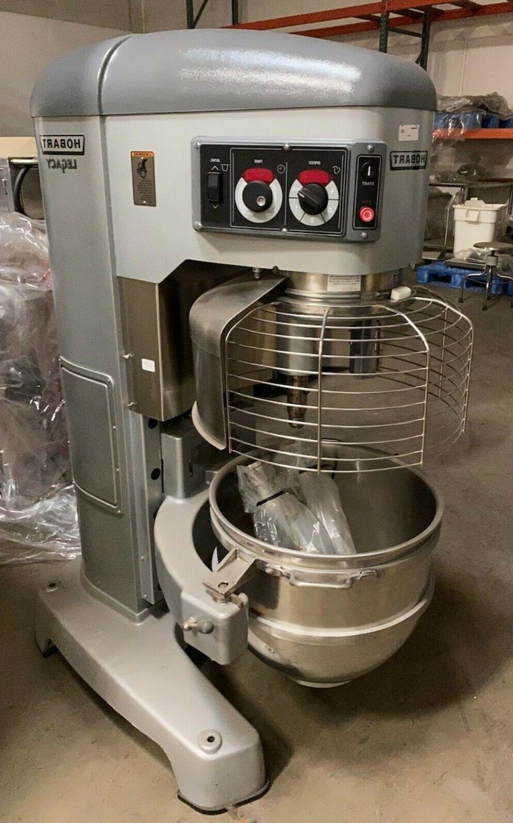 used legacy hl800 80 quart mixer w