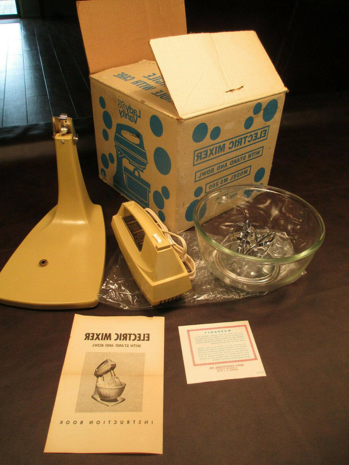 vintage new electric stand or hand held