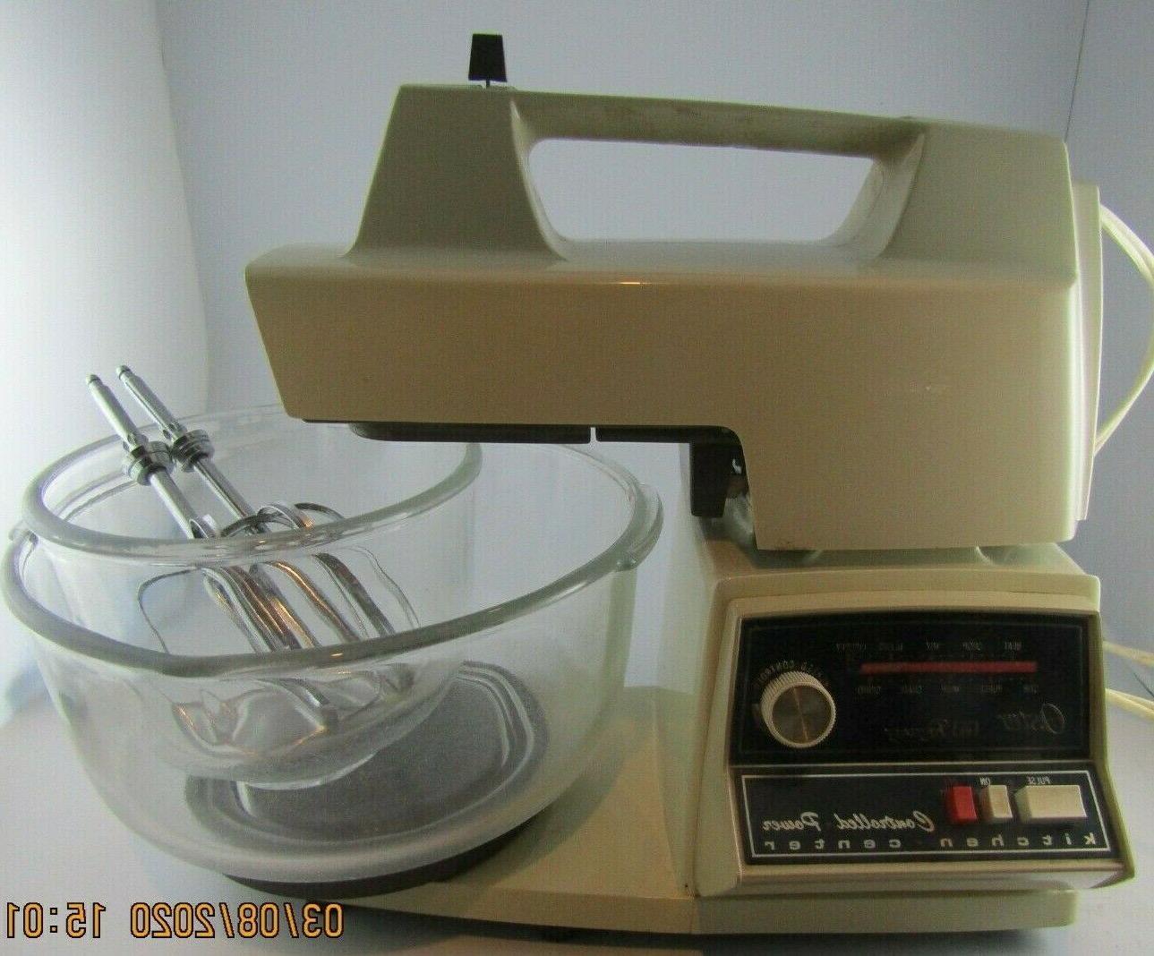 vtg regency mixer with 2 original glass