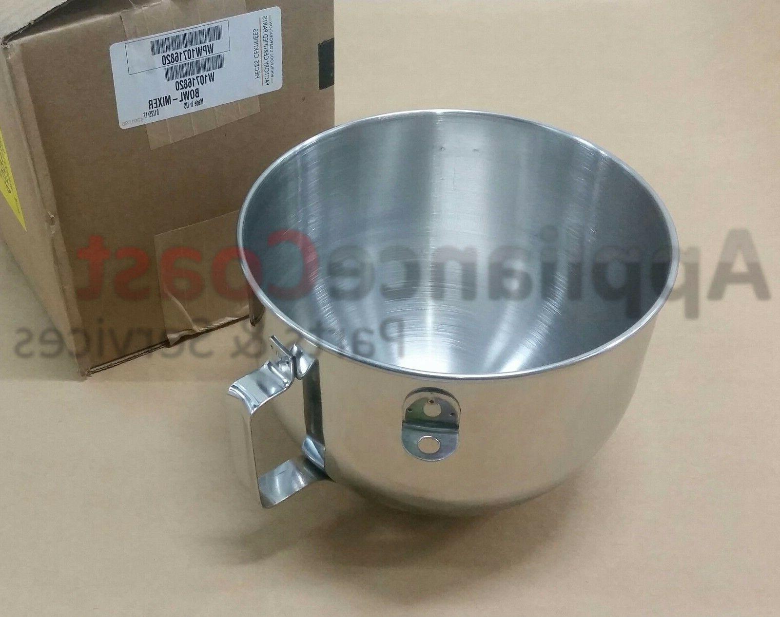 w10716820 new oem mixer bowl w handle