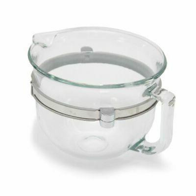 whirlpool wpw10532186 stand mixer glass bowl 6
