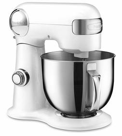 Large Stand Mixer Cuisinart Stainless Steel Bowl Heavy Duty