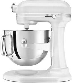 KitchenAid 7-qt. Pro Line Stand Mixer, Frosted Pearl White