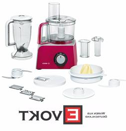 BOSCH MCM42024 Compact Kitchen Machine 800W Diamond Red 1.25