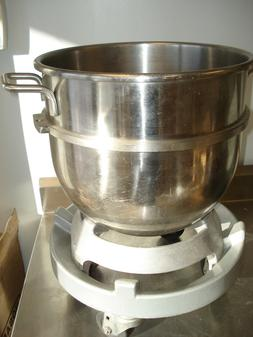 Hobart mixer adapter bowl truck dolly/ bowl stand.