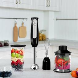 KOIOS Multi-Use 6-Speed Immersion Hand Blender/Mixer with 2-