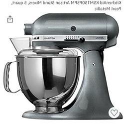 New KitchenAid Artisan 5 Quart Tilt-Head Stand Mixer KSM150P