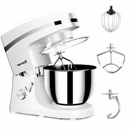 New Electric Food Stand Mixer 6 Speed 5.3Qt 800W Tilt-Head S
