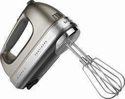 New KitchenAid hand mixer 7 Speed khm7210cu Free Whisk Inclu
