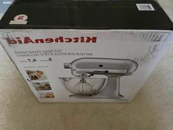 *New* KitchenAid KSM105GBCMC 5-Qt. Stand Mixer w/ Glass Bowl